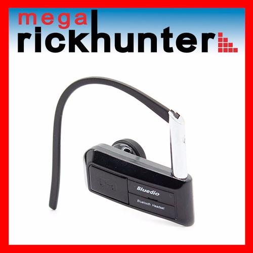 audifono bluetooth bluedio n76 handsfree compacto - negro