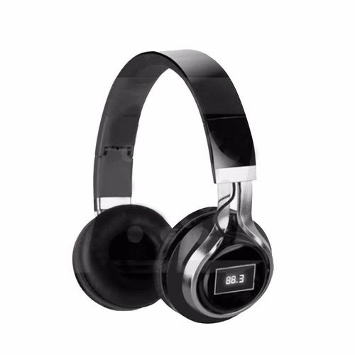 audífono bluetooth maxtron mx 721bt y radio fm handsfree isc