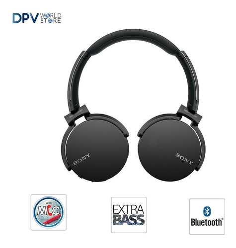 audifono bluetooth sony 950bt headset manos libres extra bas