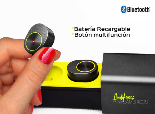 audífono bluetooth® true wireless base cargadora protectora.