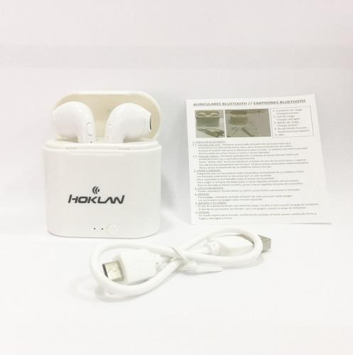 audifono celulares bluetooth estilo airpods i7s + cargador