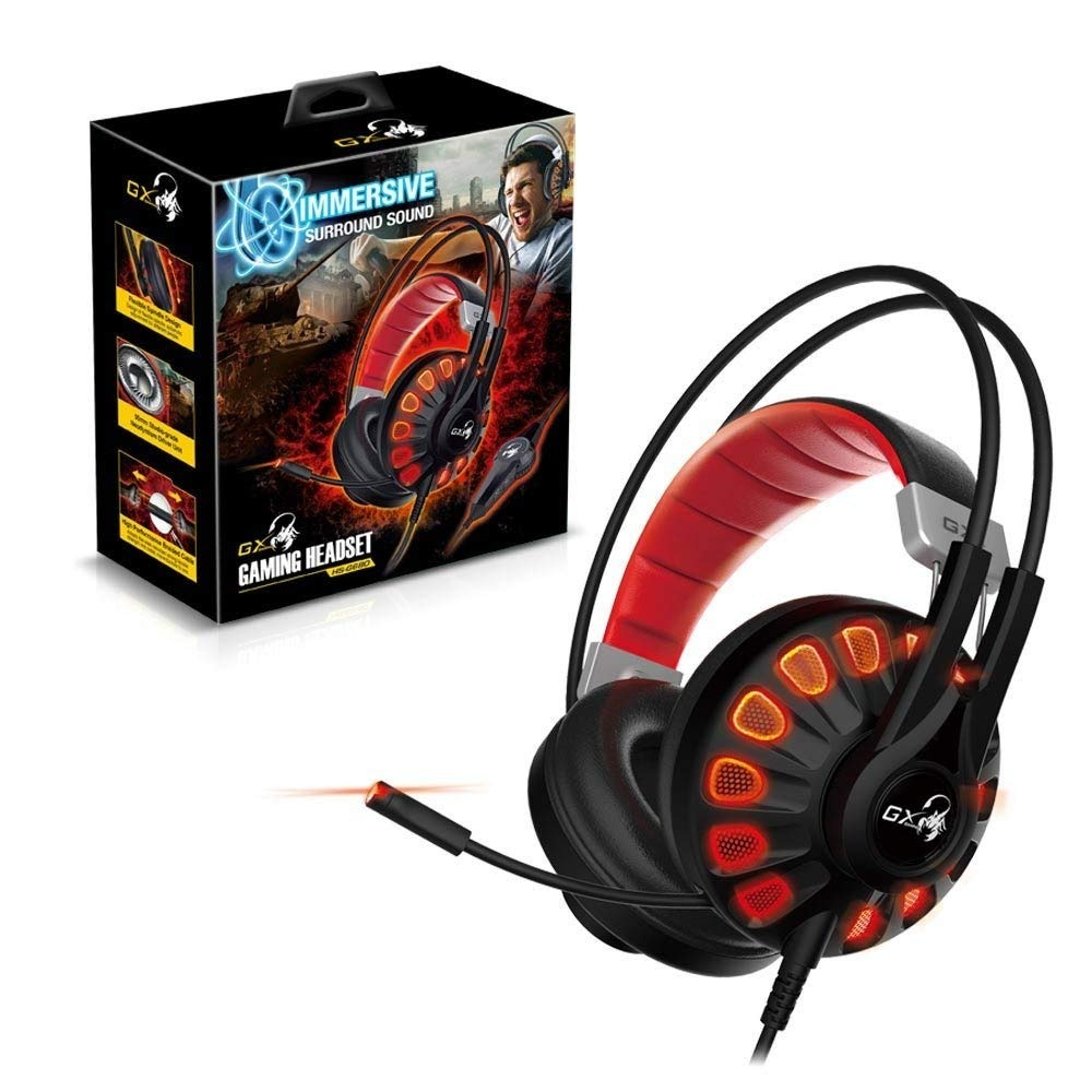 Audifono Genius Gamer 7.1 Canales Virtuales Hs-G680