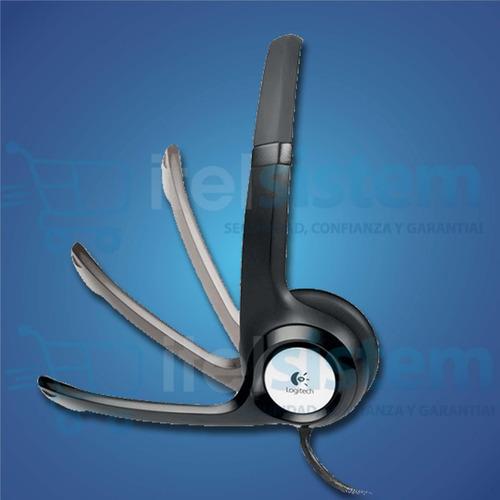 audifono c/microfono logitech clearchat h390 itelsistem