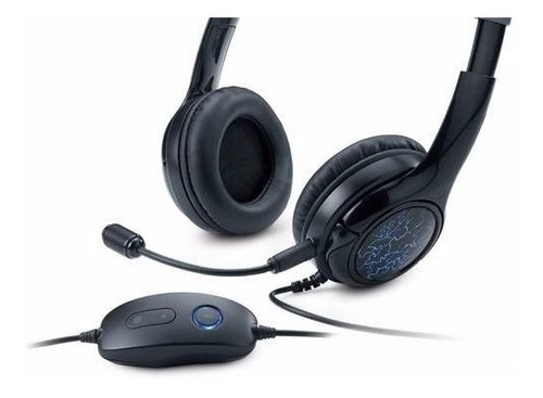 audifono con microfono gamer genius g450 7.1 luz led