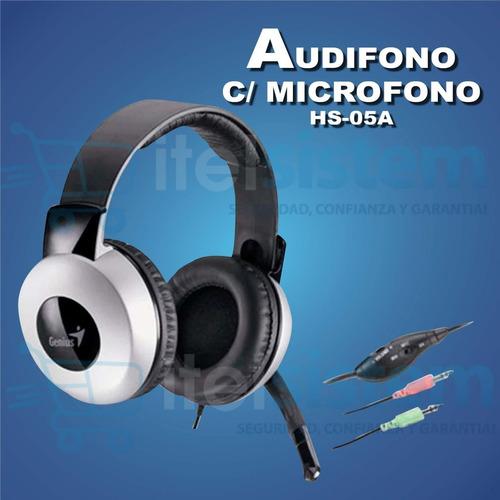 audifono con microfono genius hs-05a garantia itelsistem