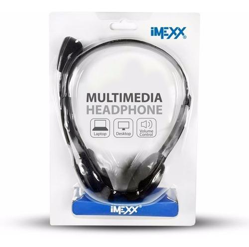 audifono con microfono imexx