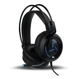 Audifono Con Microfono V2000 Gaming 7.1 Con Led Usb