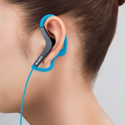 audifono deportivo sony mdr-as azul