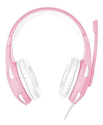audifono diadema gamer trust gxt 310p radius pink