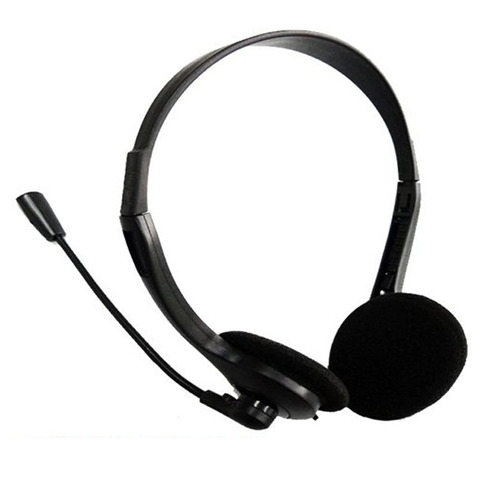 audifono diadema  micrófono ajustable pc laptop 100 calidad