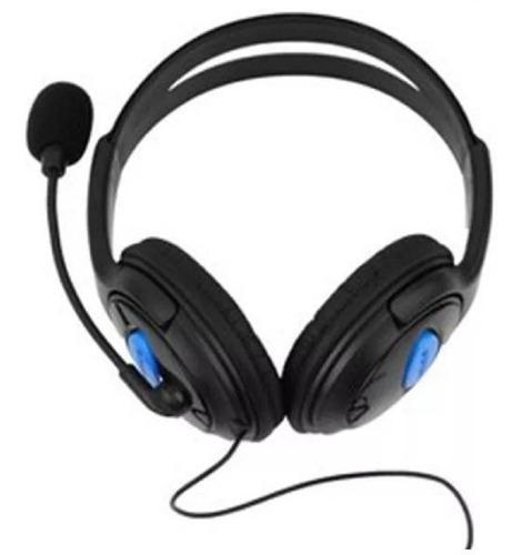 audifono diadema para ps4 con microfono y control de volumen