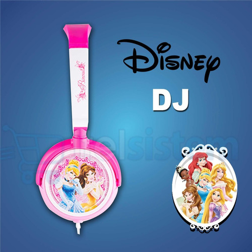 audifono disney original ipod,iphone,mp3 princes itelsistem