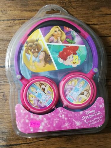 audifono disney princesas sellado !!