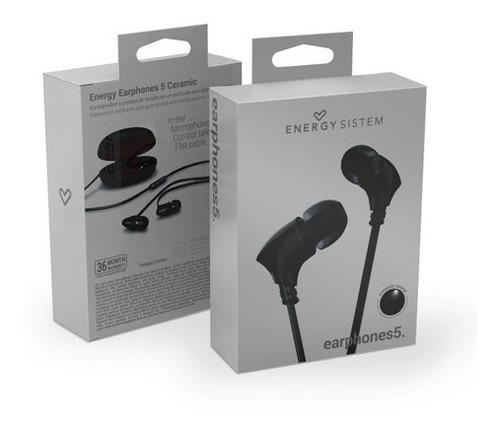 audifono energy sistem earphones 5 ceramic