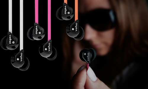 audífono estéreo con aislamiento de ruido veho 360° z1