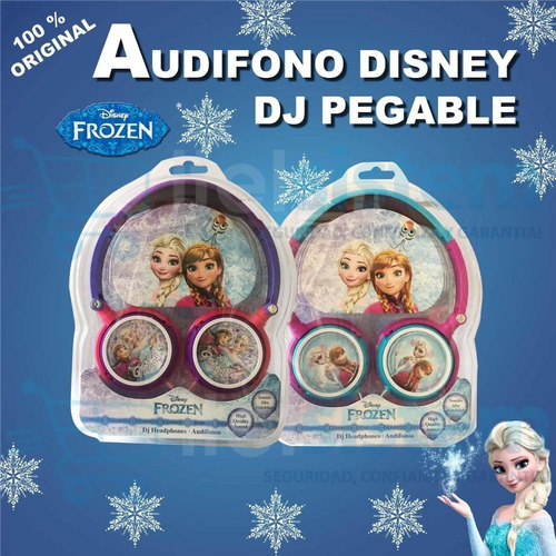 audifono frozen disney sakar para mp3 ipod etc
