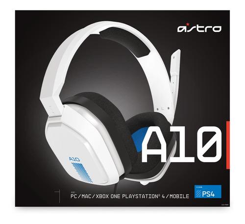 audifono gamer astro a10 blanco