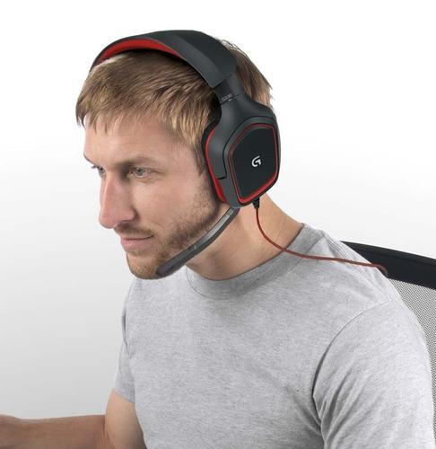 audífono gamer logitech g230 sonido stereo hi-fi