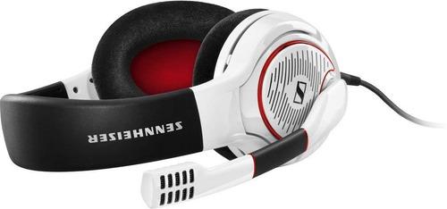 audifono gaming sennheiser gameone white con diadema cerrado