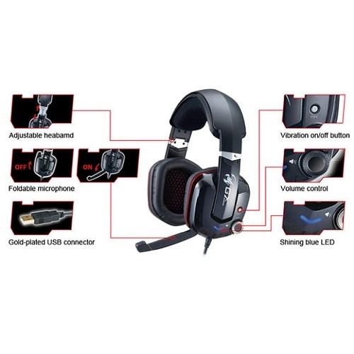 audífono genius gx cavimanus 7.1 hs-g700v usb gaming