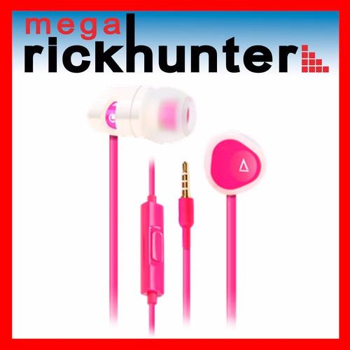 audifono handsfree creative hitz ma200 realce bajos- rosado
