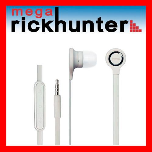 audifono handsfree htc originales cancelacion ruidos blanco
