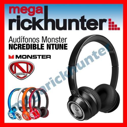 audifono handsfree monster ncredible ntune colores