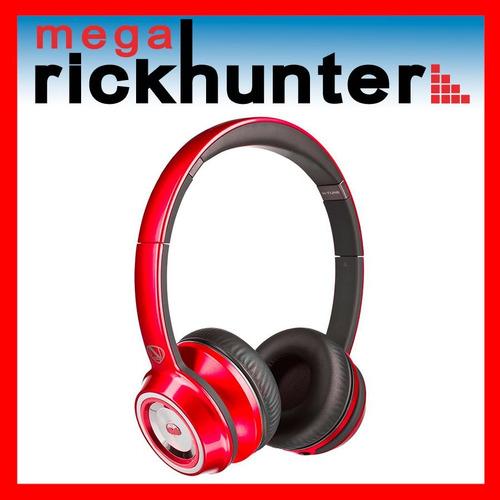 audifono handsfree monster ncredible ntune rojo