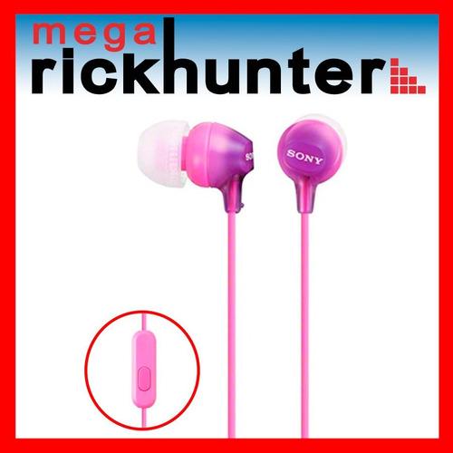 audifono handsfree sony ex15ap android iphone violeta