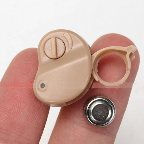 audifono hipoacusicos micro para sordo c/ regulador volumen