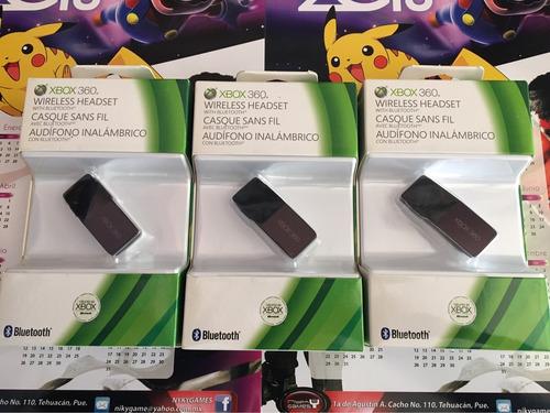 audífono inalámbrico bluetooth para xbox 360/cel original
