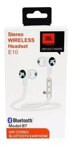 audifono jbl bt sport e10 inalambrico bluetooth wireless