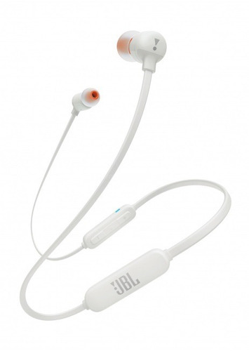 audifono jbl in-ear t110 bluetooth blanco