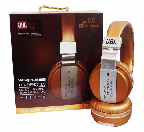 audifono jbl jb-66 wireless fm mp3