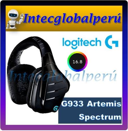 audífono logitech g933 rgb sonido 7.1 wireless