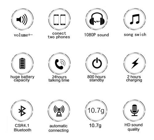 audifono manos libre 1 dia de musica y llamadas continua