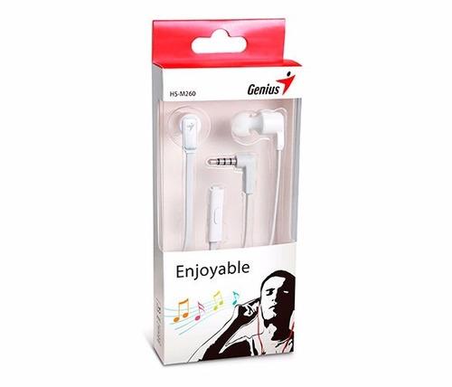 audifono manos libres celulares genius hs m260 garantia 1año
