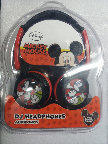 audifono marca disney mickey mouse