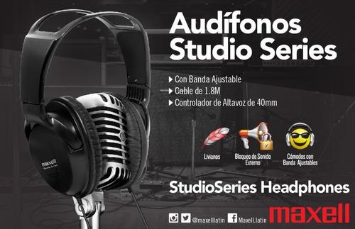 audífono maxell serie estudio aislamiento externo gratis env