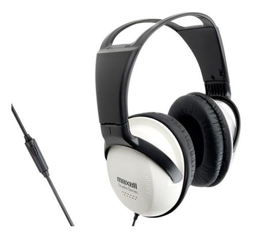 audífono maxell studio con micrófono