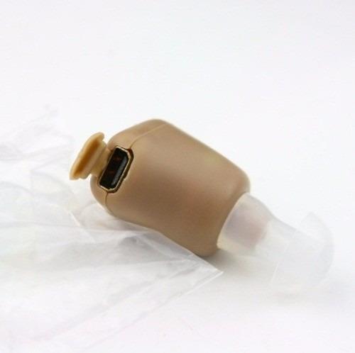audifono mini recargable con amplificador para sordos