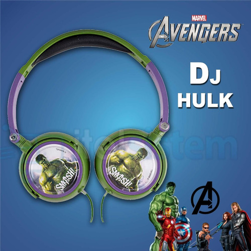 audifono minion avengers hulk disney original