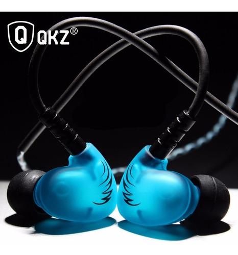 audífono monitor personal chicharo qkz s6 microfono +estuche