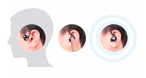 audífono monitor personal qkz s6 microfono