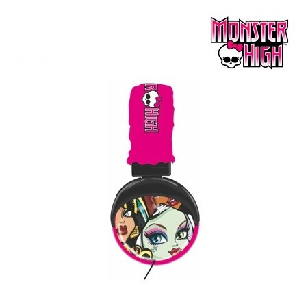 audifono monster high pink (35148)