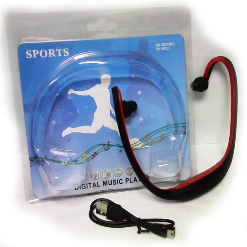 audífono mp3 sport con puerto micro sd