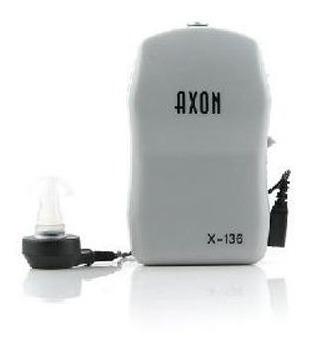 audifono ortopedico axon x-136 no a la sordera a pila aa