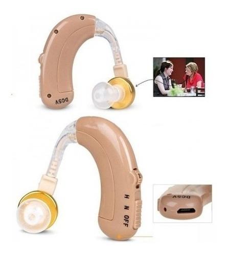 audífono ortopédico recargable usb alta fidelidad sordera