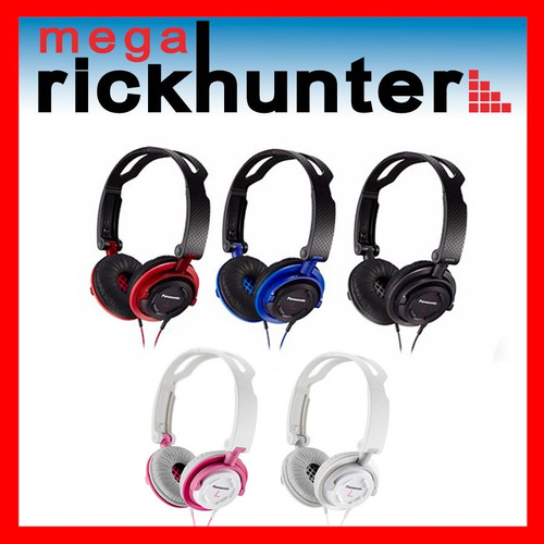 audifono panasonic tipo dj rp-djs150 plegable colores