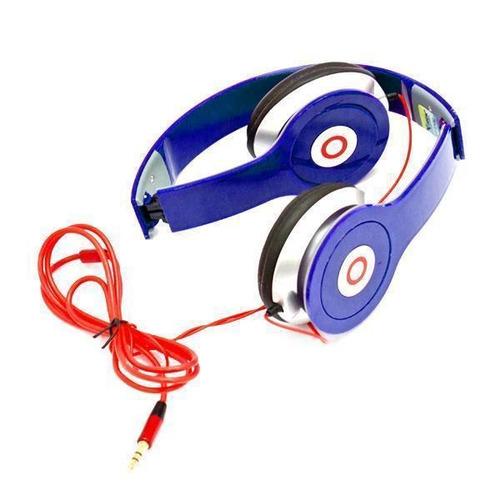 audifono para celular escuchar mp3 musica azul nuevo